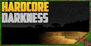 Hardcore Darkness Mod 1.12.2/1.10.2/1.7.10