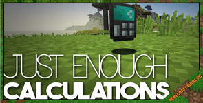 Just Enough Calculation Mod 1.16.5/1.12.2/1.7.10