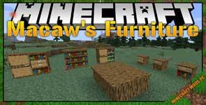 Macaw's Furniture Mod 1.16.4/1.15.2/1.12.2