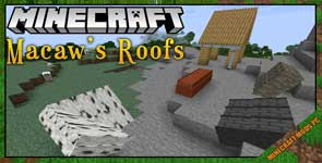 Macaw's Roofs Mod 1.16.4/1.15.2/1.12.2