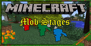 Mob Stages Mod 1.12.2