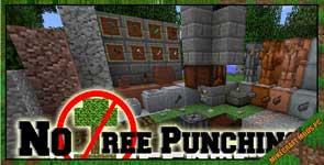No Tree Punching Mod 1.16.5/1.15.2/1.12.2