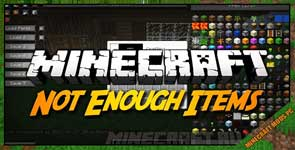 Not Enough Items 1.8.+Mod 1.12.2/1.11.2/1.10.2