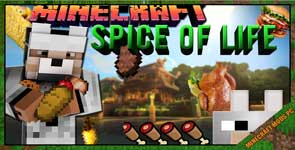 The Spice of Life Mod 1.12.2/1.11.2/1.10.2