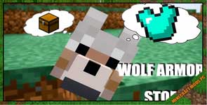 Wolf Armor and Storage Mod 1.12.2/1.10.2/1.7.10