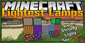 Lightest Lamps Mod 1.16.3/1.15.2/1.14.4