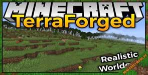 TerraForged Mod 1.16.5/1.15.2/1.12.2
