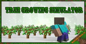 Tree Growing Simulator Mod 1.16.1/1.15.2/1.12.2