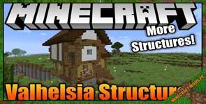 Valhelsia Structures Mod 1.16.5/1.15.2/1.14.4