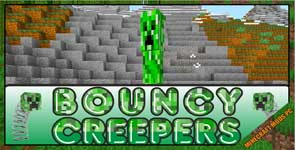 Bouncy Creepers Mod 1.12.2