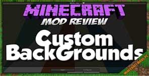 Custom Backgrounds Mod 1.13.2/1.12.2/1.11.2