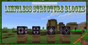 Limitless Structure Blocks Mod 1.12.2
