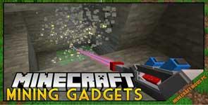 Mining Gadgets Mod 1.16.4/1.15.2/1.14.4