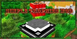 Simple Trophies Mod 1.12.2