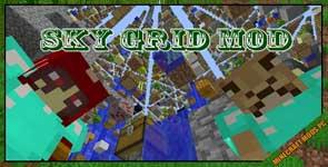 Sky Grid Mod 1.12.2/1.10.2