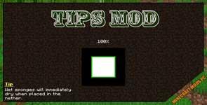 Tips Mod 1.16.5/1.16.4/1.12.2