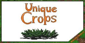 Unique Crops Mod 1.12.2/1.11.2/1.10.2