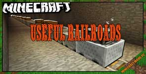 Useful Railroads Mod 1.16.5/1.15.2/1.14.4