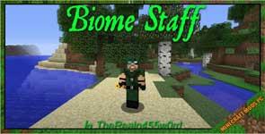 Biome Staff Mod 1.12.2