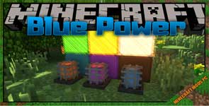 Blue Power Mod 1.16.5/1.15.2/1.12.2