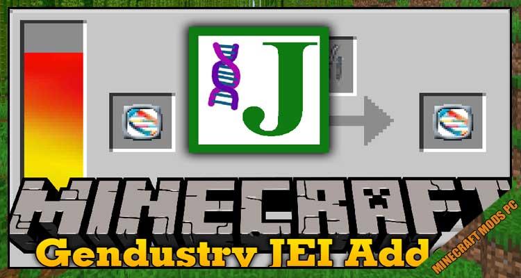 Gendustry JEI Addon