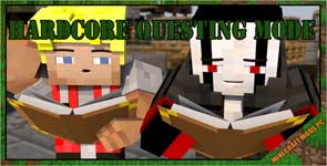 Hardcore Questing Mode Mod 1.16.5/1.12.2/1.7.10