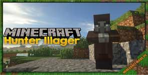 HunterIllager Mod 1.16.5/1.15.2/1.12.2