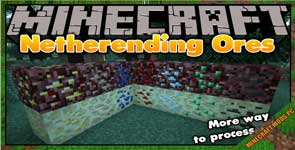 Netherending Ores Mod 1.12.2