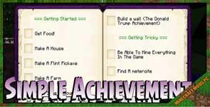 Simple Achievements Mod 1.10.2/1.9.4/1.7.10