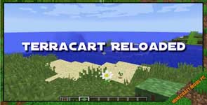 Terracart Reloaded Mod 1.16.5/1.12.2/1.11.2