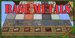 Base Metals Mod 1.12.2/1.11.2/1.10.2