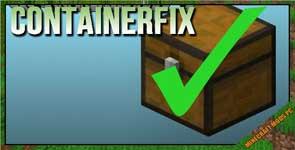 ContainerFix Mod 1.13.2/1.12.2