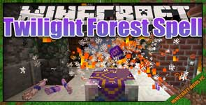 Electroblob's Wizardry: Twilight Forest Spell Pack Mod 1.12.2