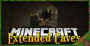 Extended Caves Mod 1.16.5/1.14.4