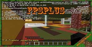 FpsPlus Mod 1.7.10/1.6.4/1.5.2