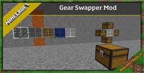 Gear Swapper Mod 1.12.2/1.11.2/1.10.2