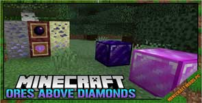 Ores Above Diamonds Mod 1.16.5/1.15.2/1.12.2