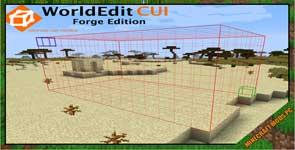 WorldEditCUI Forge Edition 2 Mod 1.12.2/1.11.2