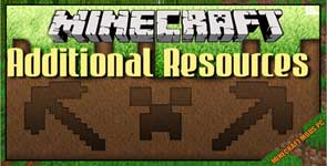 Additional Resources Mod 1.12.2/1.10.2/1.7.10