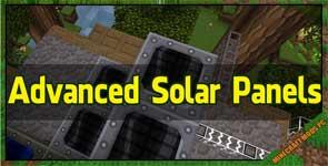 Advanced Solar Panels Mod 1.12.2/1.11.2/1.10.2