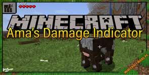 Ama's Damage Indicator Mod 1.15.2/1.14.4/1.13.2