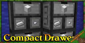 Compact Drawers Mod 1.12.2