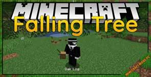 Falling Tree Mod 1.17/1.16.5/1.15.2