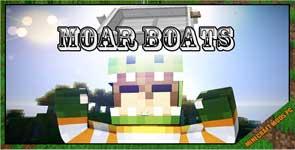 Moar Boats Mod 1.16.3/1.15.2/1.12.2
