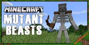 Mutant Beasts Mod 1.16.5/1.15.2/1.12.2