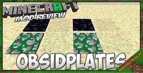 ObsidiPlates Mod 1.7.10/1.16.2/1.5.2