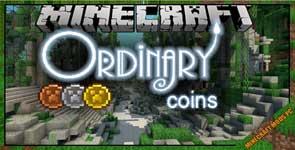 Ordinary Coins Mod 1.12.2/1.10.2/1.7.10