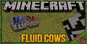 Ranchable Fluid Cows Mod 1.10.2/1.7.10