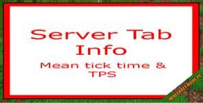 Server Tab Info Mod 1.16.5/1.15.2/1.12.2