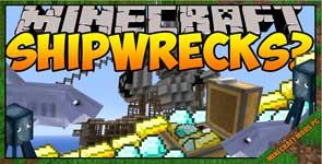 Shipwrecks! Mod 1.12.2/1.11.2/1.8.9